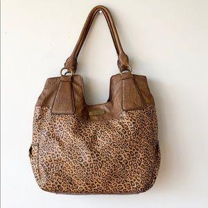 Jessica Simpson Cheetah Print Faux Leather Bag